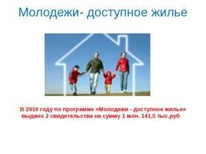Молодежи доступное жилье программа