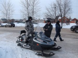 Зарегистрировать снегоход правила