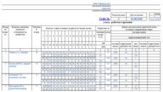 Как составить табель рабочего времени на май 2019 г
